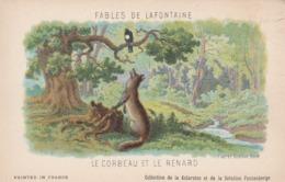 FABLES DE LA FONTAINE LE  CORBEAU ET LE RENARD - Contes, Fables & Légendes
