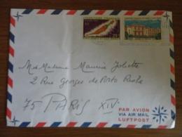 LETTRE DE DES AFARS ET ISSAS  POUR LA FRANCE - Afars Y Issas (1967-1977)