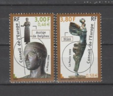FRANCE / 1999 / Y&T SERVICE N° 120/121 ** : CONSEIL De L'EUROPE (Aurige/Niké) X 1 Paire - Service