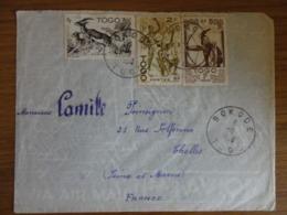 LETTRE DU TOGO  POUR LA FRANCE - Togo (1914-1960)