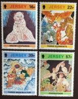 Jersey 1992 Ship Batik Birds Animals MNH - Jersey