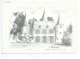 Château D'Ossogne à Thuillies ( Format MAIS Pas Un Dos CP ) - Thuin