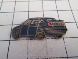 519 Pin's Pins : BEAU ET RARE : Thème AUTOMOBILES / SEAT CORDOBA GRIS FONCE - Pins