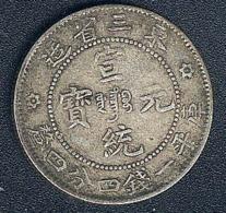 China, Manchurian Provinces, 20 Cents, Silber, Hsuan Tung, KM 213.2 - China