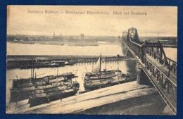 Duisburg. Ruhrort. Homberger Rheinbrücke. Blick Auf Homberg. 1919 - Duisburg