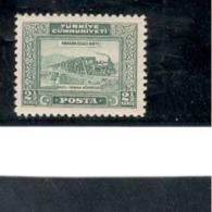 TURKEY1930: Michel 896 Mnh** - 1921-... Republic