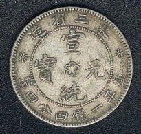 China, Manchurian Provinces, 20 Cents, Silber, KM 213a.3 - China
