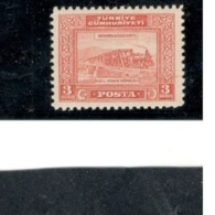 TURKEY1930: Michel 897 Mnh** Cat.Value$44 - 1921-... Republic