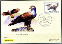 "ITALIA / ITALY 2019 - Europa 2019 - Uccelli / Birds - ""Aquila Di Bonelli"" - Maximum Card - 2019"