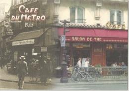 CPM Paris Café Du Métro Rue De Rennes - Arrondissement: 06