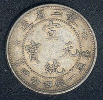 China, Manchurian Provinces, 20 Cents, Silber, KM 213a.4 - China