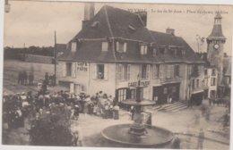 19  MEYMAC  Le Feu De Saint Jean  Place Du Champ De Foire    Ecrite 1916  Bon Etat - Francia