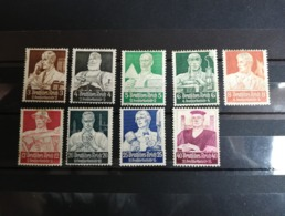 GERMAN EMPIRE 1934 Charity Stamps - Germany At Work Complete Series - Deutschland