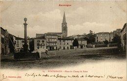CPA Auvergne PONTGIBAUD - Place Du Champ De Foire (374577) - Frankreich