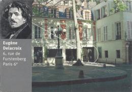 CPM Paris Eugène Delacroix 6 Rue De Furstenberg - Arrondissement: 06