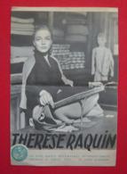 Dossier De Presse De Thérèse Raquin (1953) - Marcel Carné - Sonstige