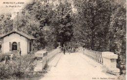 Cpa Marcilly Sur Eure Le Pont De Fer. - Marcilly-sur-Eure