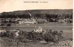 Cpa Marcilly Sur Eure Vue Générale. - Marcilly-sur-Eure