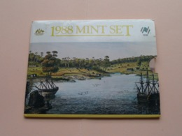 1988 Mint SET ( Australia The New Impressions / For Grade, Please See Photo ) ! - Mint Sets & Proof Sets