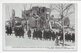 Snow-covered Devestated Residential Section Of Halifax After Terrible Explosion - Halifax