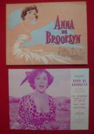 Dossier De Presse De Anna De Brooklyn (1958) - Gina Lollobrigida - Sonstige