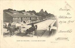 CPA Militaire - Camp De CHALONS - Quartier De Cavalerie (90221) - Camp De Châlons - Mourmelon