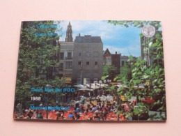 1988 Muntset Nederland FDC ( 's Rijks Munt / Dutch Mint ) > ( For Grade, Please See Photo ) ! - Pays-Bas