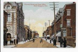 Provost Street And Post Office, New Glasgow, N.S. - Nova Scotia