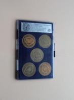 In Box > 5 X 1 Souverein > Jubileummunt MILLENNIUM Van BRUSSEL  ( For Grade, Please See Photo ) ! - Pièces écrasées (Elongated Coins)