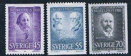 Sweden 880-82 MNH Nobel Prize Winners 1970 CV 2.35 (S1069) - Sweden