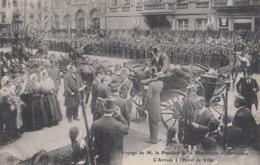 DUNKERQUE: Voyage D EM. Le Président De La République - L'arrivée à L'Hôtel De Ville - Dunkerque