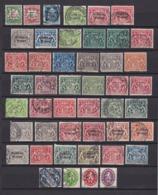 Bayern - Dienstmarken - 1908/1920 - Sammlung - Gest./Ungebr./Postfrisch - Bavaria