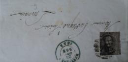 Belgie Belgique // COB 1? Op Brief Stukje 1852 - 1849 Epauletten