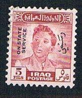 Iraq O127 Used King Faisal II Overprint (BP8035) - Iraq