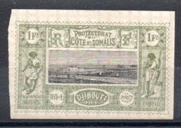 SOMALIS - YT N° 17 - Neuf * - MH - Cote: 32,00 € - French Somali Coast (1894-1967)