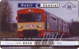 AUSTRIA Private: *Verbundlinie 3 - Bahn* - SAMPLE [ANK F565] - Oesterreich
