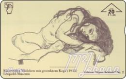 AUSTRIA Private: *Egon Schiele 2* - SAMPLE [ANK F566] - Oesterreich