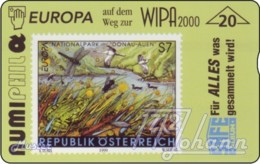 """TWK Österreich Privat: """"Numiphil '99 - Naturschutz"""" Gebr. - Oesterreich"""