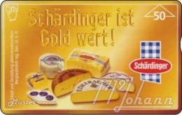 """TWK Österreich Privat: """"Schärdinger - Gold"""" Gebr. - Autriche"""