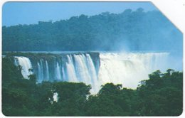 ARGENTINIA A-302 Magnetic Telecom - Landscape, Waterfall - Used - Argentine
