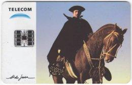 ARGENTINIA A-304 Chip Telecom - Occupation, Gaucho, Animal, Horse - Used - Argentine