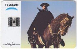 ARGENTINIA A-305 Chip Telecom - Occupation, Gaucho, Animal, Horse - Used - Argentine