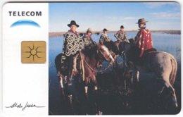 ARGENTINIA A-306 Chip Telecom - Occupation, Gaucho, Animal, Horse - Used - Argentine