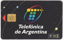 ARGENTINIA A-310 Chip Telefonica - Advertising, Chewing Gum - Used - Argentine