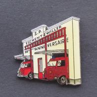 1 Pin's Sapeurs Pompiers De ESCHENTZWILLER (HAUT RHIN - 68) - Brandweerman