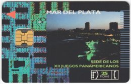 ARGENTINIA A-324 Chip Telefonica - Used - Argentine