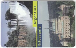 ARGENTINIA A-339 Chip Telefonica - Landscape, Waterfall - Used - Argentine