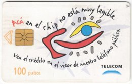 ARGENTINIA A-357 Chip Telecom - Painting, Modern Art - Used - Argentine