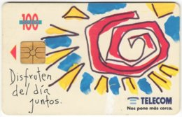 ARGENTINIA A-358 Chip Telecom - Painting, Modern Art - Used - Argentine