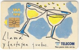 ARGENTINIA A-359 Chip Telecom - Painting, Modern Art - Used - Argentine